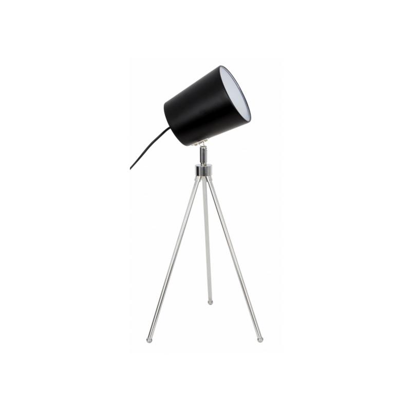 Sobremesa trípode de diseño color negro