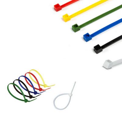Bridas de plástico varias medidas y colores