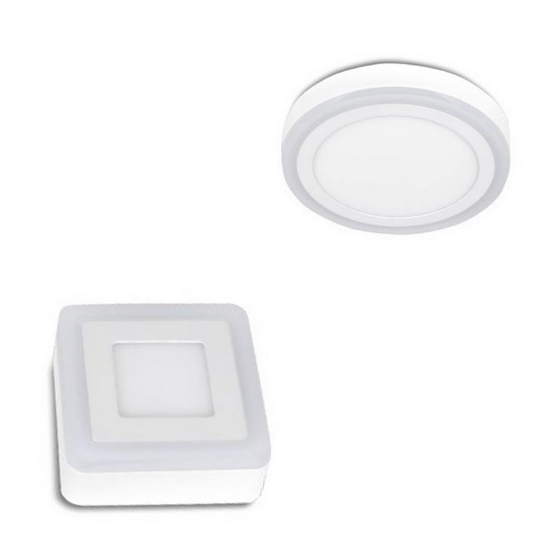 Plafón led 3 modos de luz