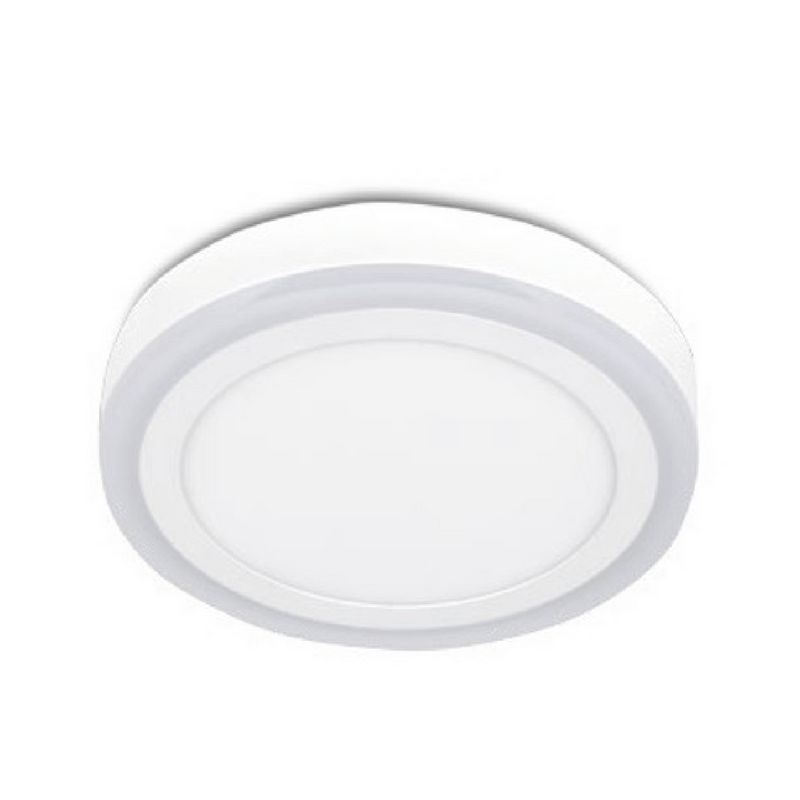 Plafón led 3 modos de luz redondo