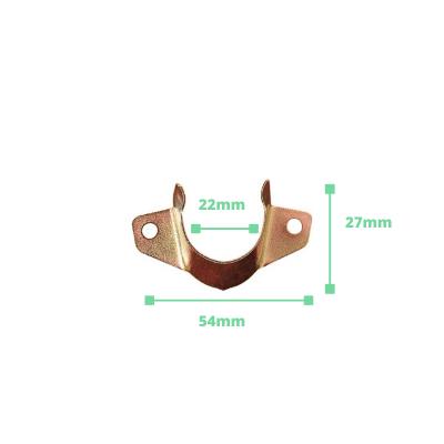 Soporte lateral abierto para tubo armario 22mm