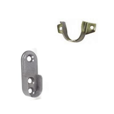 Soporte lateral abierto para tubo armario