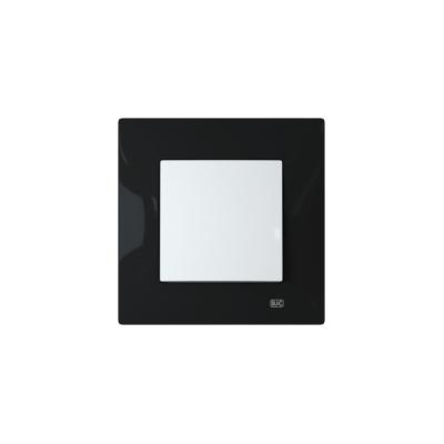 Interruptor con marco negro BJC Viva
