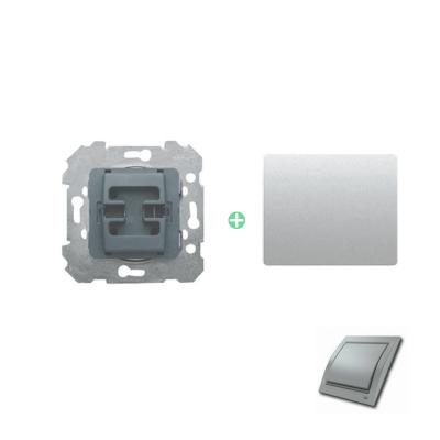 Interruptor con tecla aluminio fusión BJC Mega