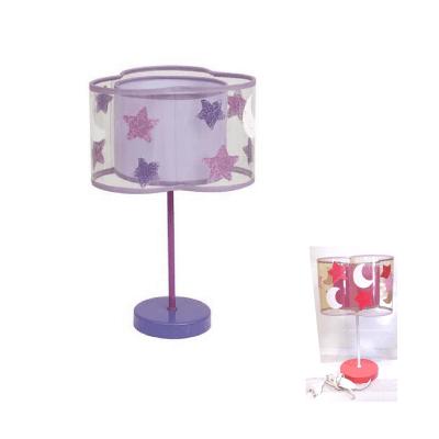 Lámpara de sobremesa infantil lunas y estrellas