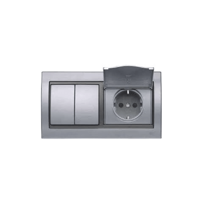 Marco doble aluminio BJC Mega