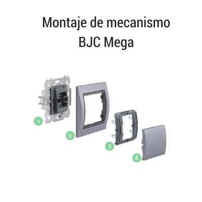 Montaje de mecanismo BJC Mega