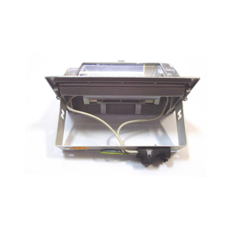 Proyector rectangular para empotrar directo a red