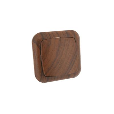 Pulsador empotrable madera Electro-Dh