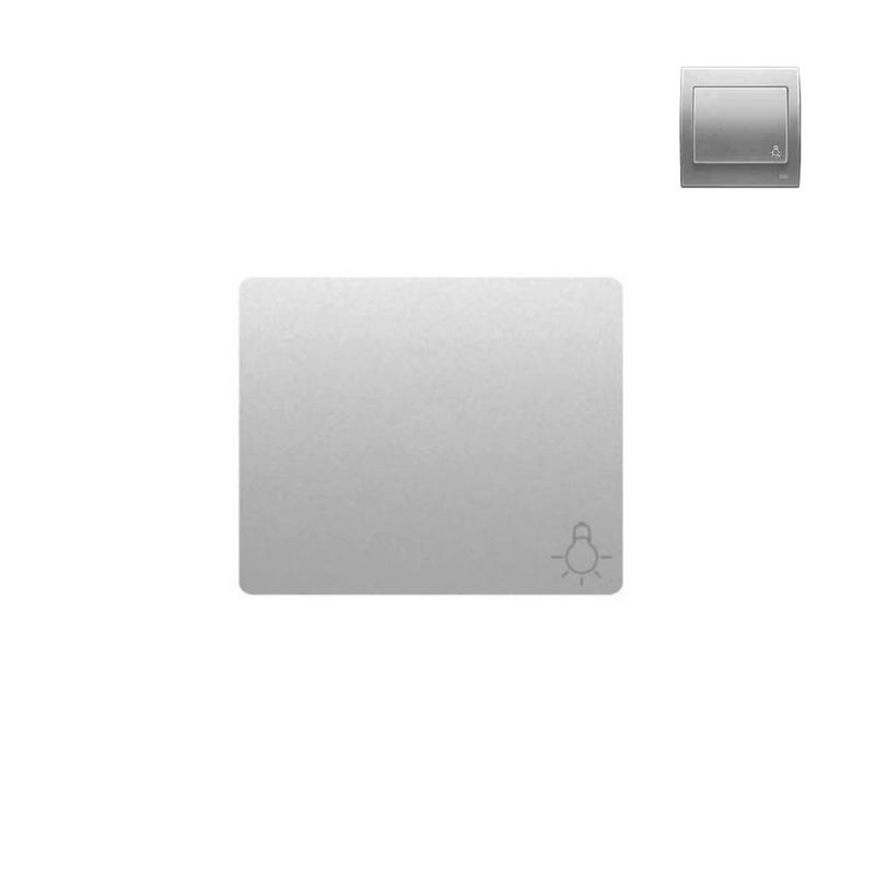 Tecla pulsador aluminio mercurio BJC Iris