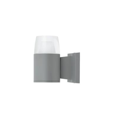 Aplique de pared led para exterior gris 9w Jamaica