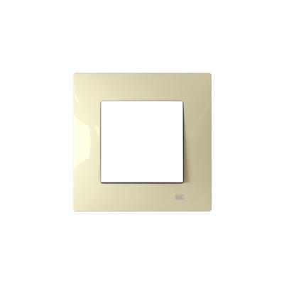Interruptor con marco blanco BJC Viva