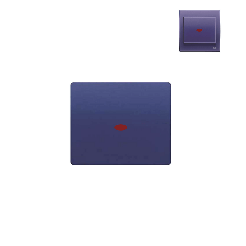 Tecla interruptor con luminoso azul ming BJC Iris 28705-AML