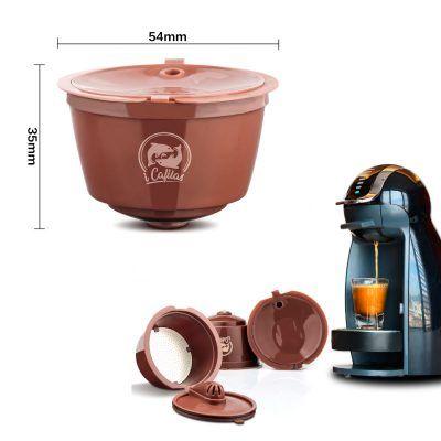 Cápsulas de café reutilizable con filtro