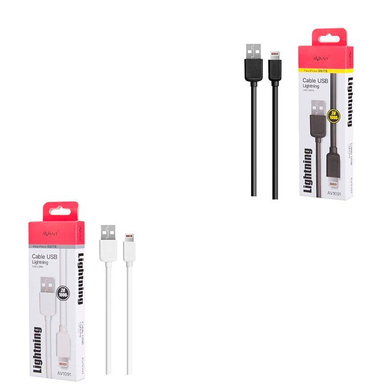 Conexion USB macho a Iphone 5-6-7-8