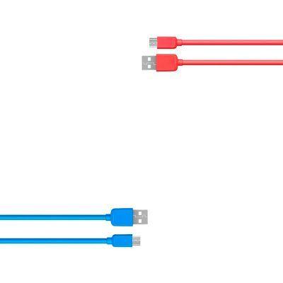 Conexión USB macho a micro USB