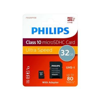 Tarjeta microSD 32Gb Philips