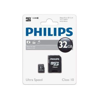 Tarjeta microSD 32 Gb Philips