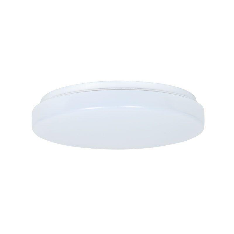 Plafón led redondo superficie blanco