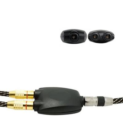 Splitter de fibra óptica conector toslink 2 salidas hembra