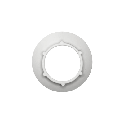 Arandela blanca rosca E27