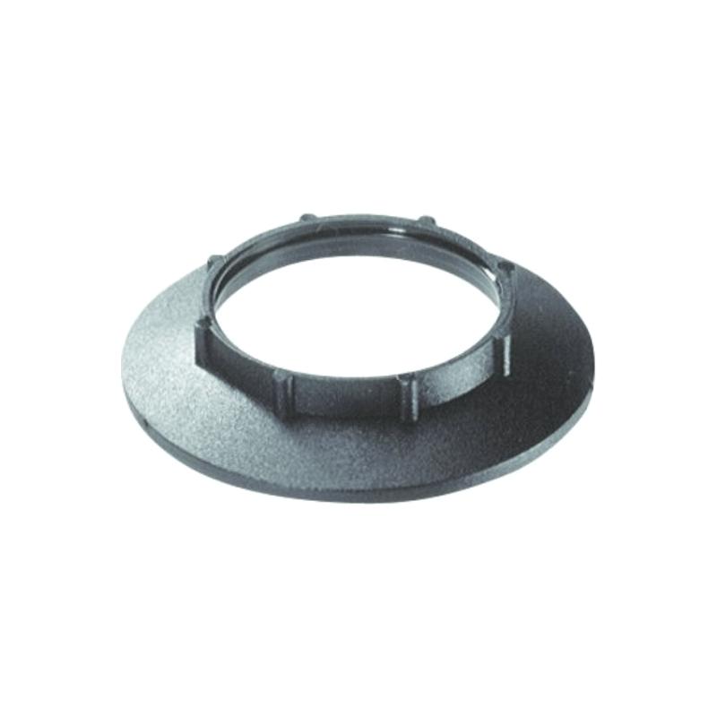 Arandela negra rosca E27