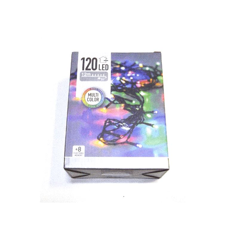 Guirnalda led 120 luces multicolor