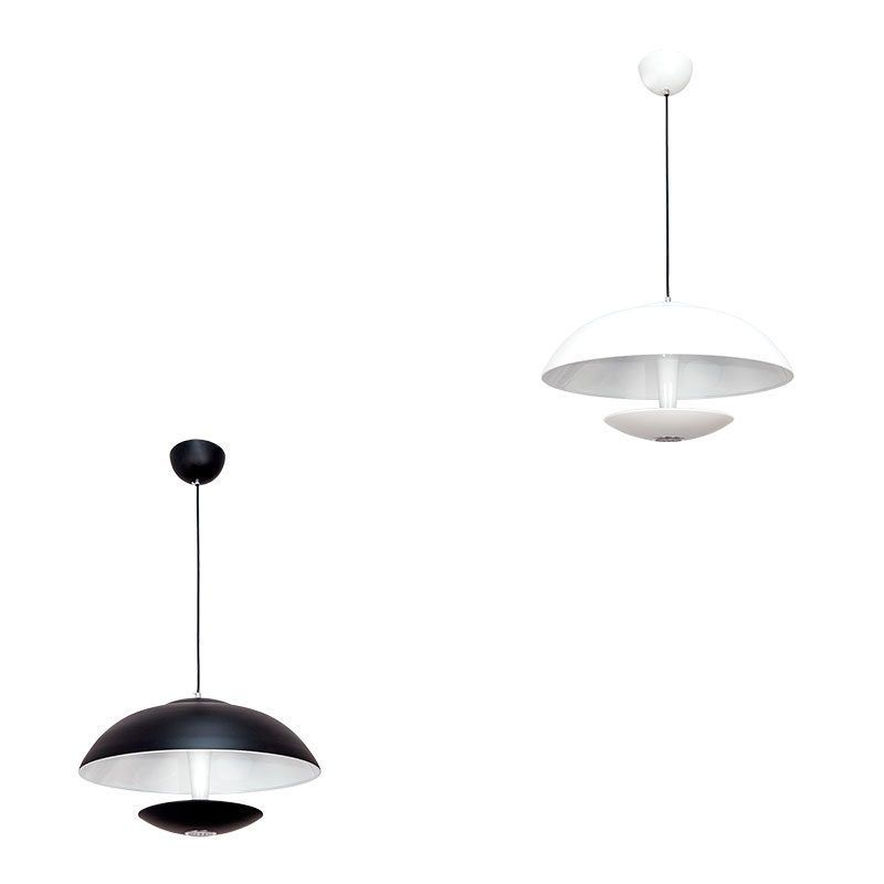 Lámpara colgante led con luz indirecta