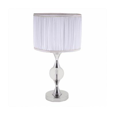 Lámpara de sobremesa con esfera de cristal