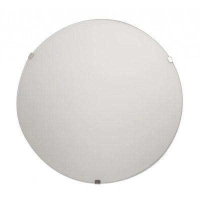 Plafón sencillo redondo blanco
