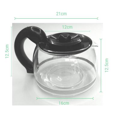 Jarra cafetera universal con tapa antigoteo