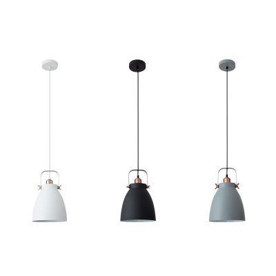 Lámpara colgante forma de campana serie Getting