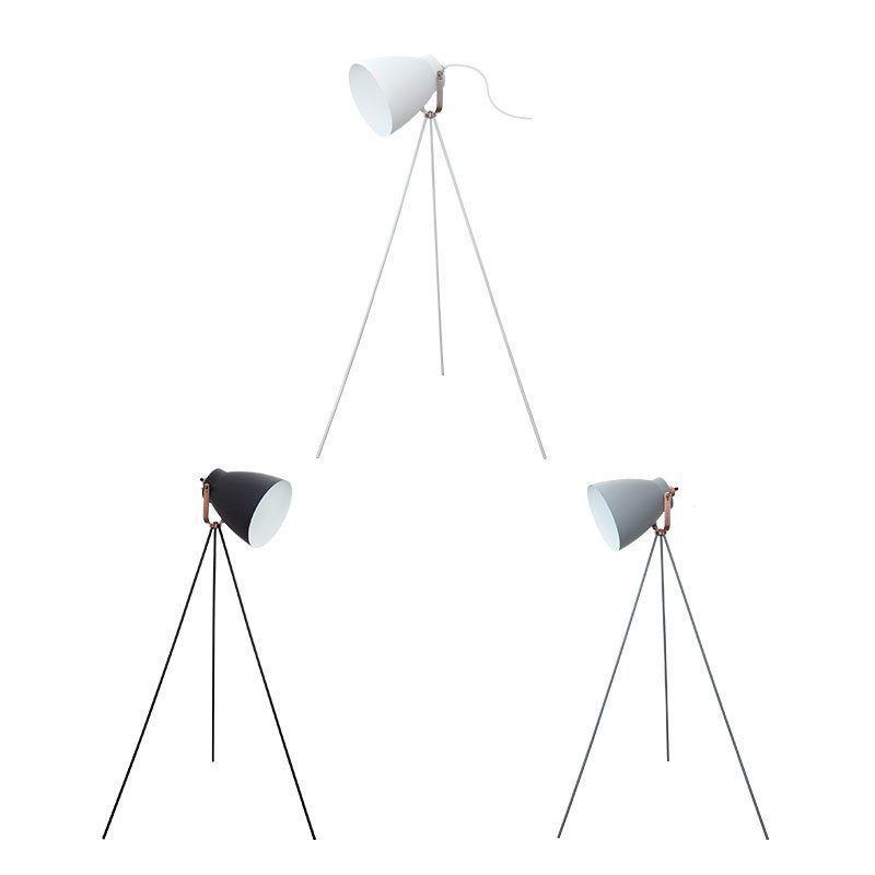 Lámpara trípode estilo nórdico