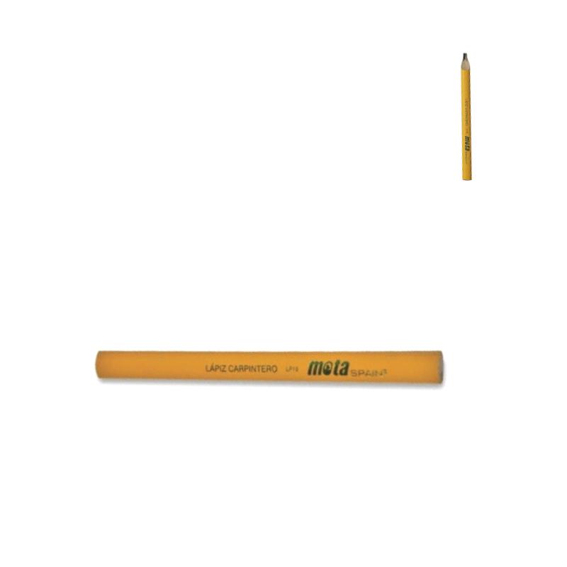 Lápiz de carpintero grafito oval