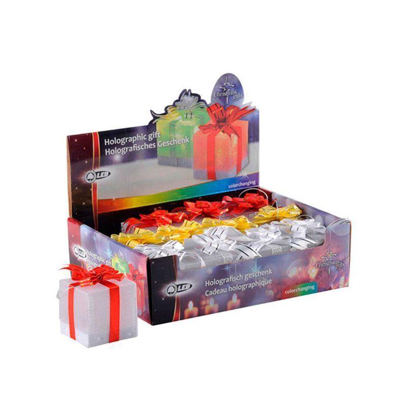 Cajas de regalos con luz