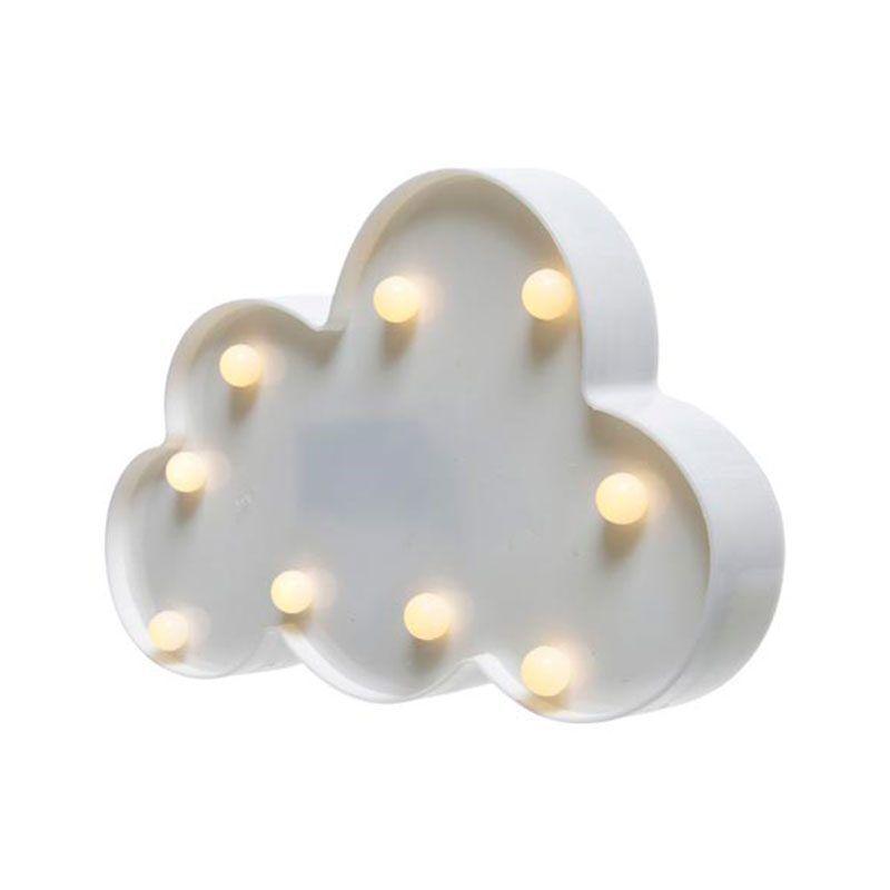 Lámpara nube con luces led