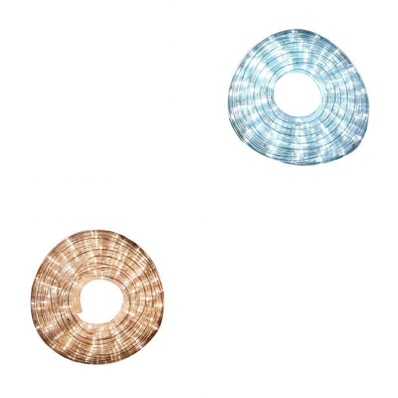 Tubo luminoso flexible blanco 10 metros
