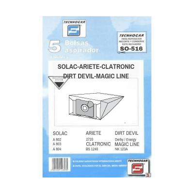 Bolsa de aspirador Solac 516