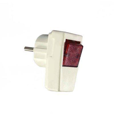 Clavija de enchufe con interruptor