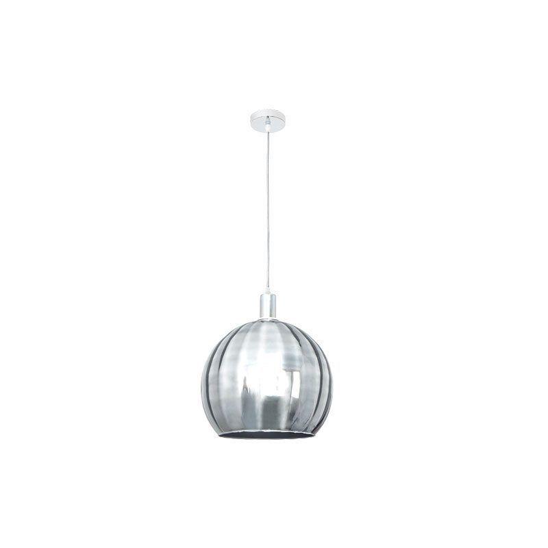 Lámpara de techo cromo serie Zamora