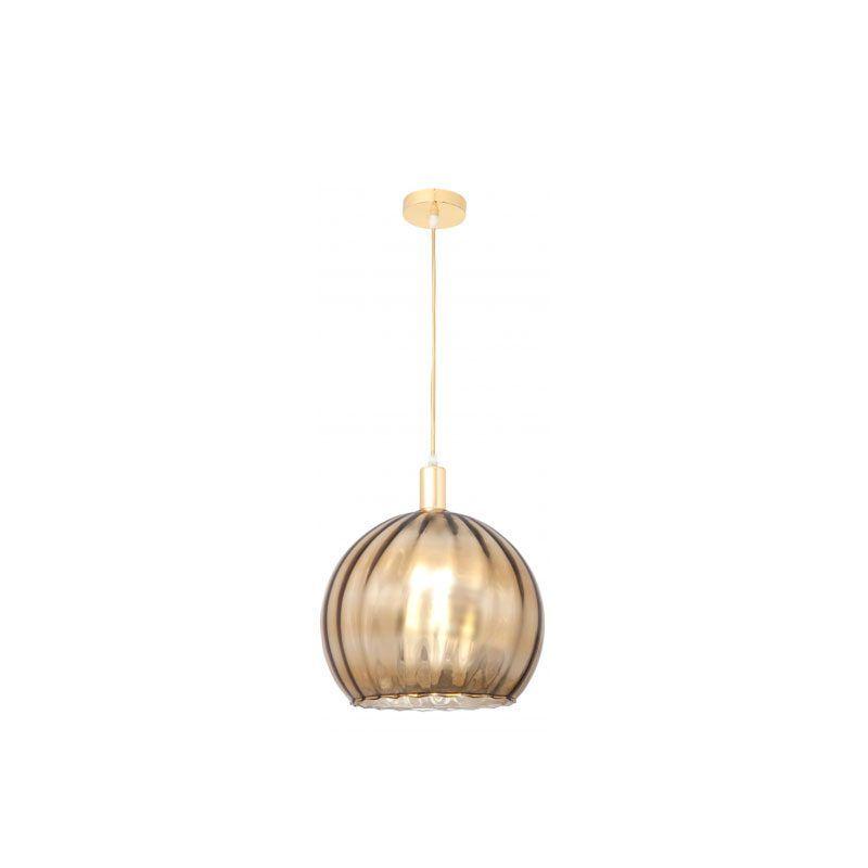 Lámpara de techo oro serie Zamora