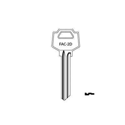 Llave FAC-2D plana serreta