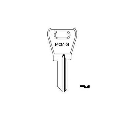 Llave MCM-5I plana serreta