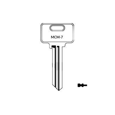 Llave MCM-7 plana serreta