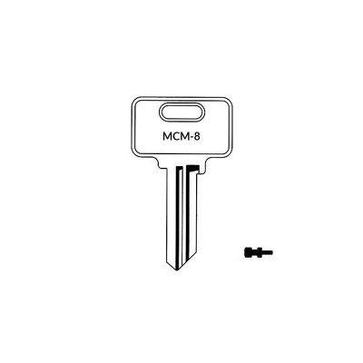 Llave MCM-8 plana serreta