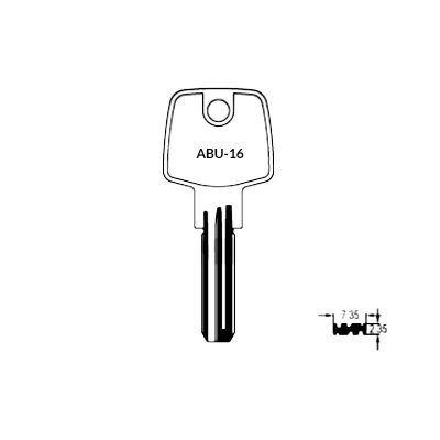 Llave de seguridad ABU-16