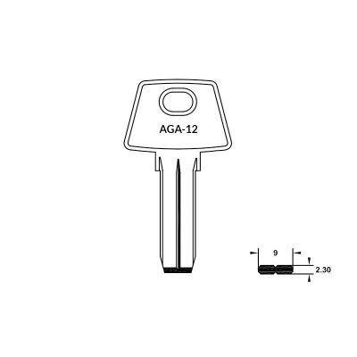 Llave de seguridad AGA-12