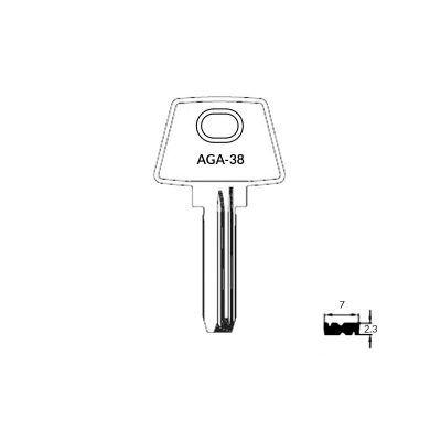Llave de seguridad AGA-38