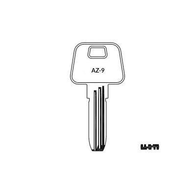 Llave de seguridad AZ-9