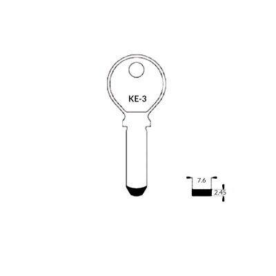 Llave de seguridad KE-3